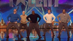 OMG - Old Men Groving on Britains Got Talent BGT.