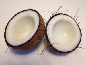 Coconut Oil is made from the tropical nut called Coconut
