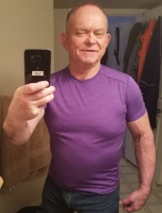 Selfie Ray Plumlee Taken 26 March 2018 at age 70.