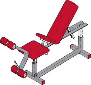 Picking the right exercise equipment to use.