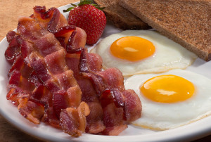 Bacon and Eggs For a Keto Friendly Diet