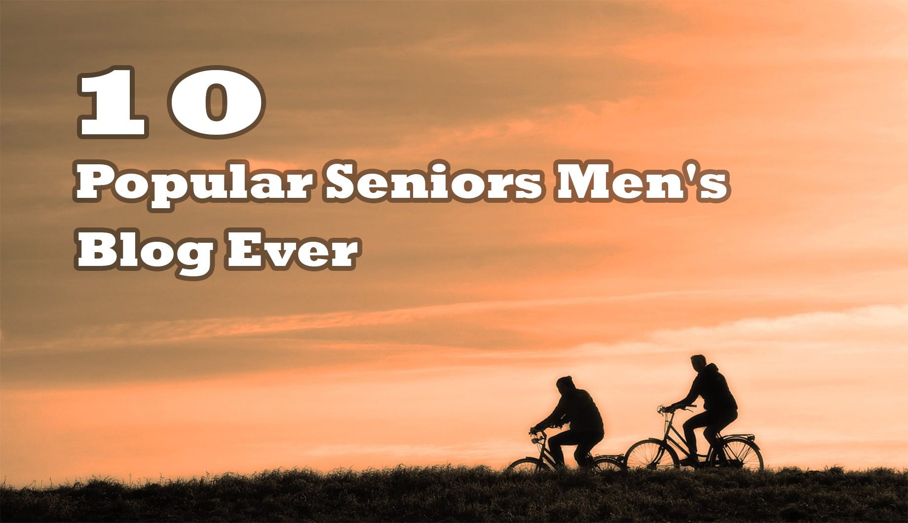 Popular Seniors Men's Blog Ever