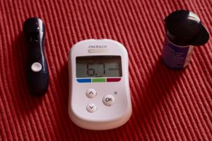Diabetes Blood Glucose Testing Device