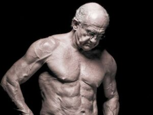 Old Man With Body Builder Physique