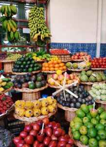 Fruits On Display In Market