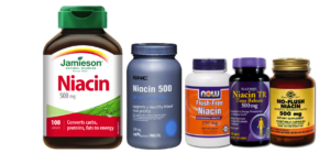 Various Niacin Supplement Brands